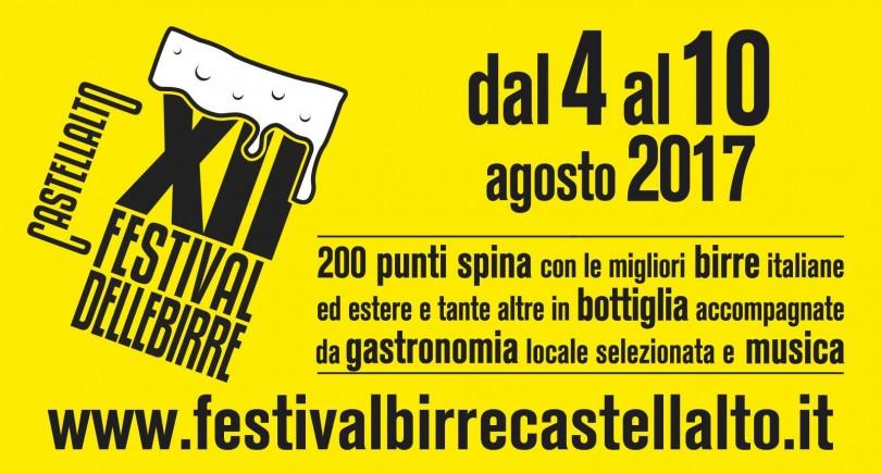Festival birre artigianali Castellalto