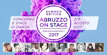 banner Abruzzo On Stage Summer Edition 2017