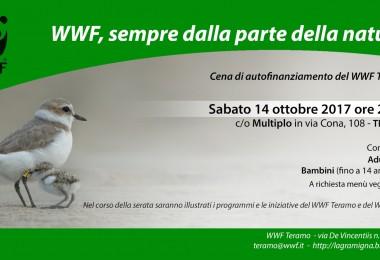 Cena di autofinanziamento del WWF Teramo