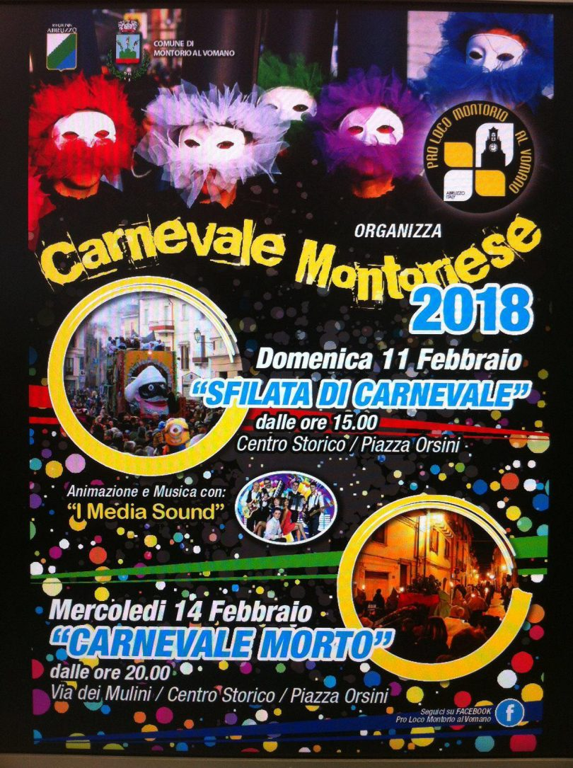 Carnevale Montoriese 2018
