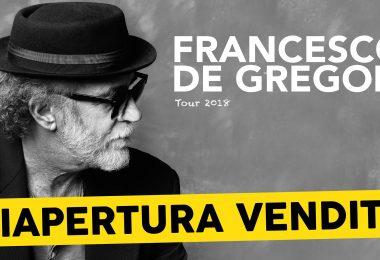 Francesco De Gregori tour 2018