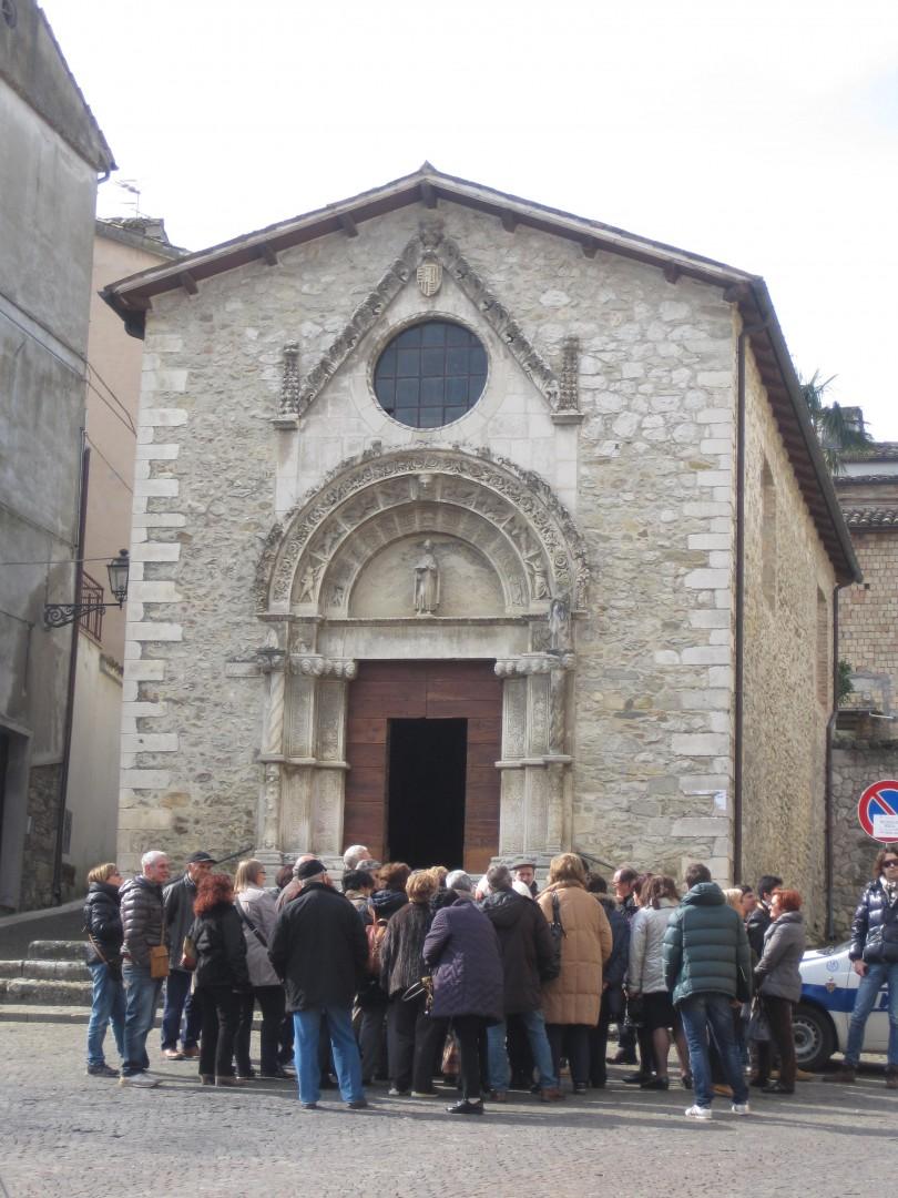 Chiesa sant'Antonio Tossicia