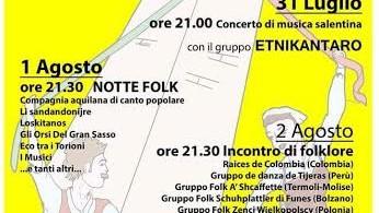 Incontro folklore Penna Sant'Andrea