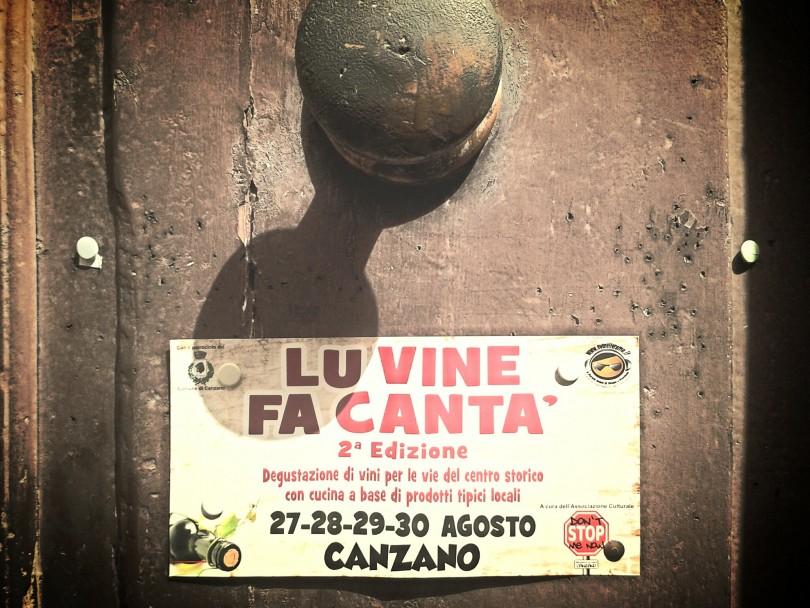 lu vine fa cantà