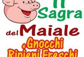 Sagra del maiale e gnocchi ripieni freschi