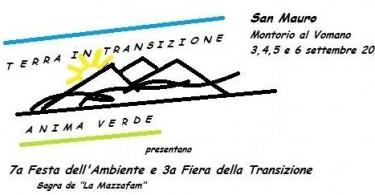 San Mauro-locandina Festa dell'ambiente e Fiera della Transizione