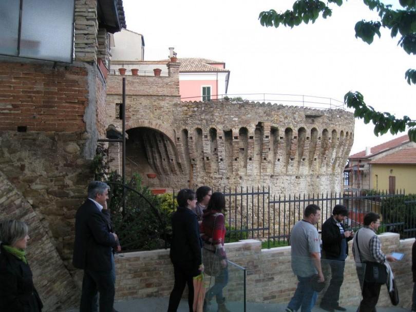 Torrione medievale canzano