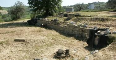 area archeologica grasciano
