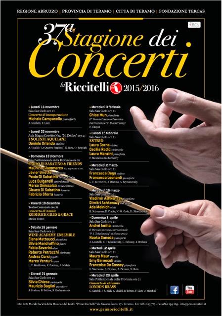stagione dei concerti