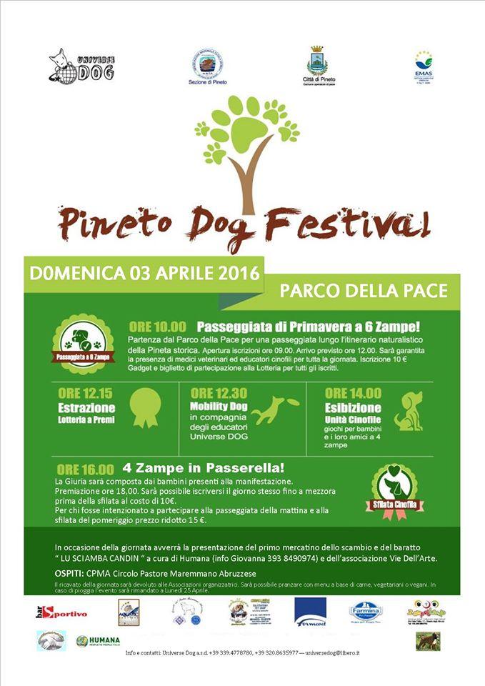 pineto dog festival