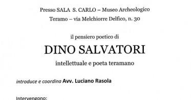 il pensiero poetico di Dino Salvatori