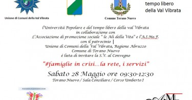 #Famiglieincrisi-la-rete-i-servizi