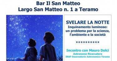aperitivo scientifico svelare la notte
