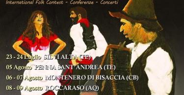 Festival del Saltarello tour 2016